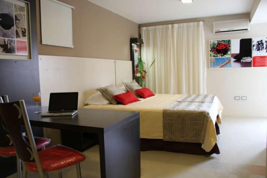 Habitacion del apart hotel sol de piedra