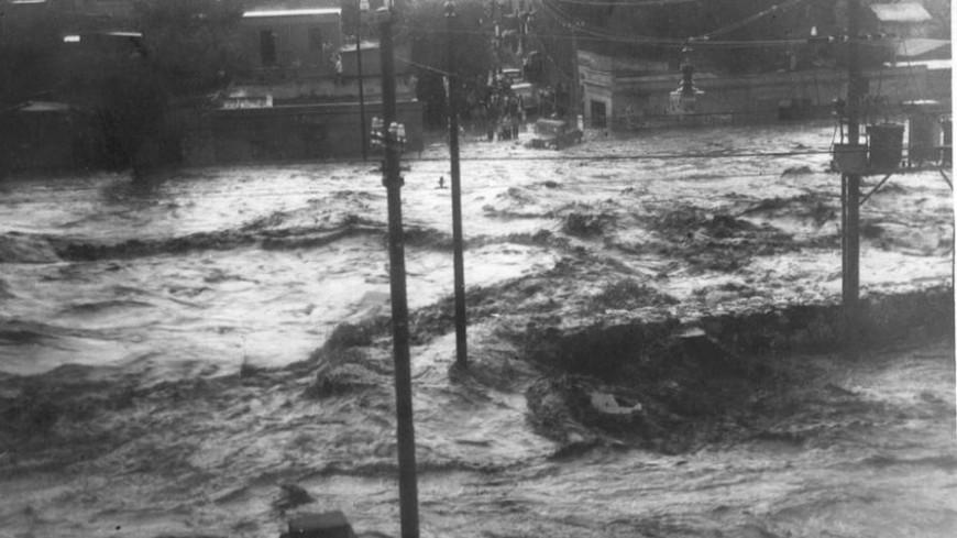 Córdoba- inundaciones en La Cañada