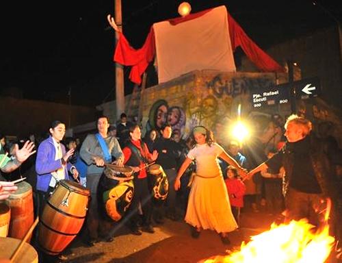 fiesta de san juan, barrio güemes