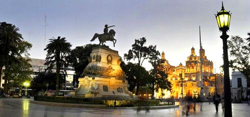 turismo en córdoba, centro de la ciudad, argentina