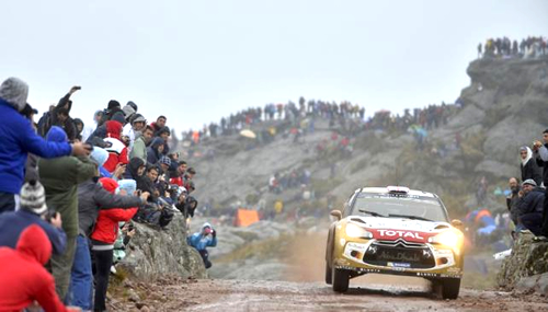 recorrido rally argentina 2016